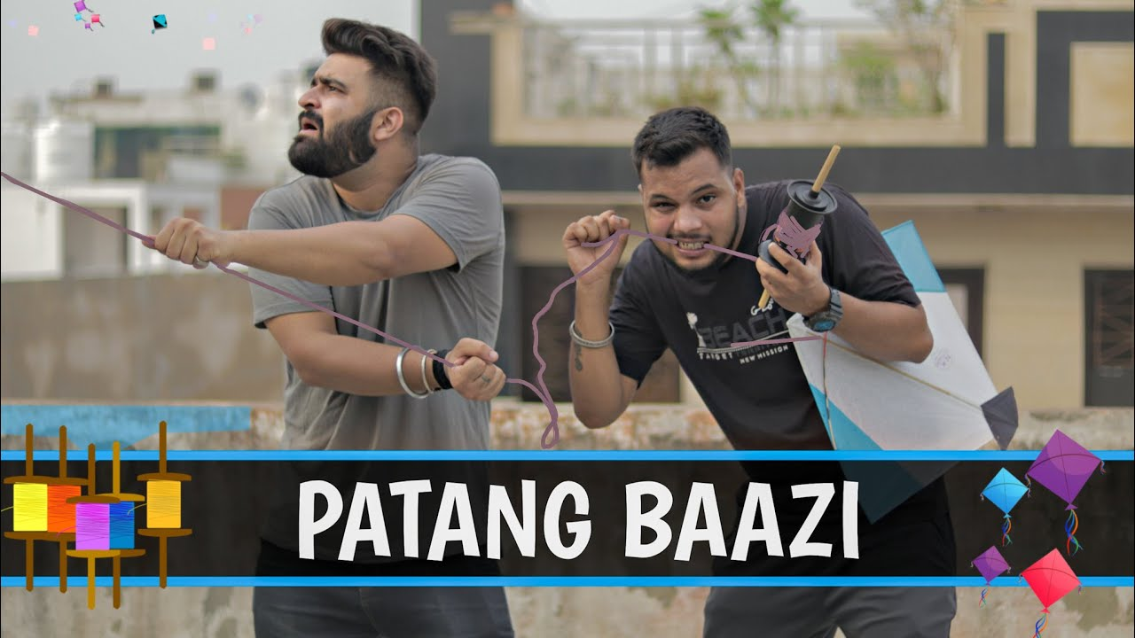 Patang Baazi   Types Of Patang Baaz In India   Kite Flying Gone Wrong   15august special video