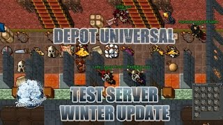 Depot universal - Test Server Winter Update 2015 - Tibia