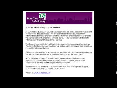 Audio of Community and Customer Services - 15 April 2014
