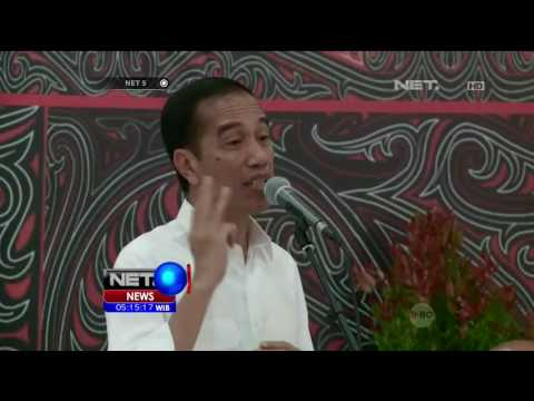 Presiden Joko Widodo Bertemu Tokoh Masyarakat Toba - NET5