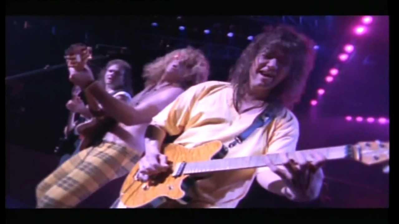 Van Halen Finish What Ya Started Live Youtube
