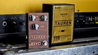 New pedals from JOYO! Tauren Overdrive - Demo / Review