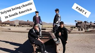Seiyuu being chaotic in South America (eng sub)