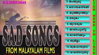 SAD SONGS FROM MALAYALAM FILMS AUDIO JUKEBOX