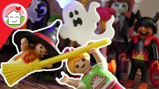 Playmobil Familie Hauser - Halloweenparty - Halloween Kinderfilm - Spielzeugfilm
