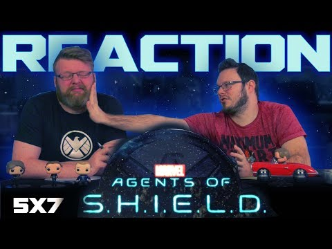 """Agents of Shield 5x7 REACTION!! """"Together or Not at All"""""""