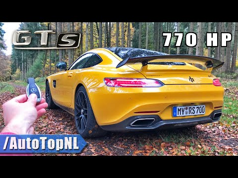 770HP Mercedes-AMG GT S REVIEW on AUTOBAHN [NO SPEED LIMIT] by AutoTopNL