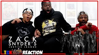 Zack Snyder's Justice League Official Trailer Reaction