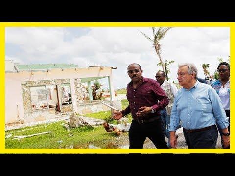 Breaking News | Antigua and barbuda pm seeks saudi investment after hurricane
