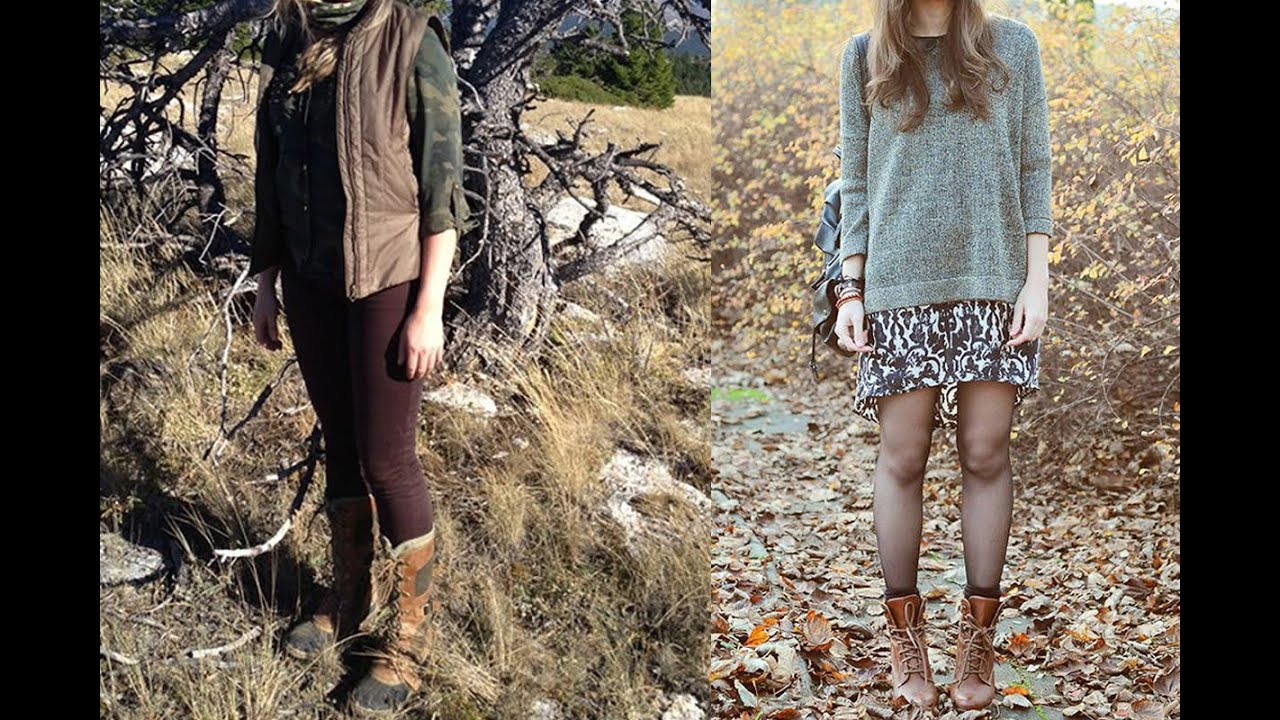 20 Style Tips On How To Wear Hiking Boots For Women Youtube