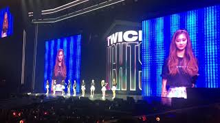 Twice thanks PH ONCE and bids farewell in Filipino - Part 2 (TwiceLights in Manila 29-Jun-2019) Resimi