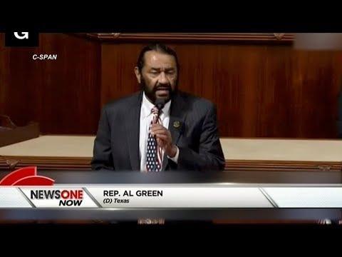 Rep. Al Green Unveils Articles Of Impeachment Against Donald Trump