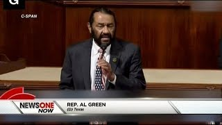 Rep. Al Green Unveils Articles Of Impeachment Against Donald Trump