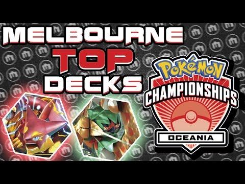 TOP DECKS from the Pokemon TCG Oceania International Championship in MELBOURNE! [Pokemon TCG Online]