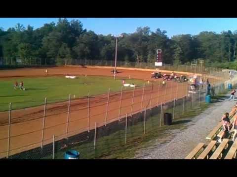 Kory Merkey 600cc Heat Race LANCO Clyde Martin Speedway
