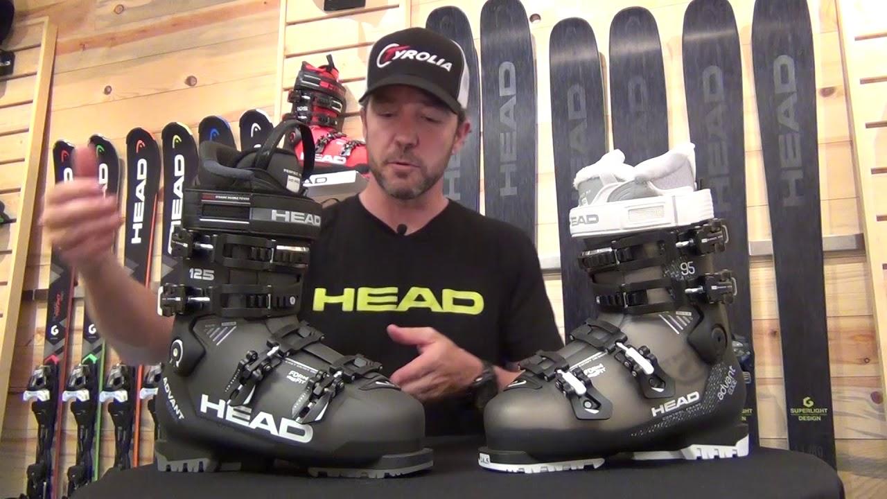 Head Advant Edge Ski Boots 2017 18 Youtube