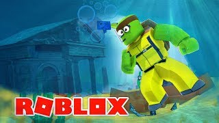 Roblox - TINYTURTLE HUNTS FOR TREASURE AND FINDS ATLANTIS!