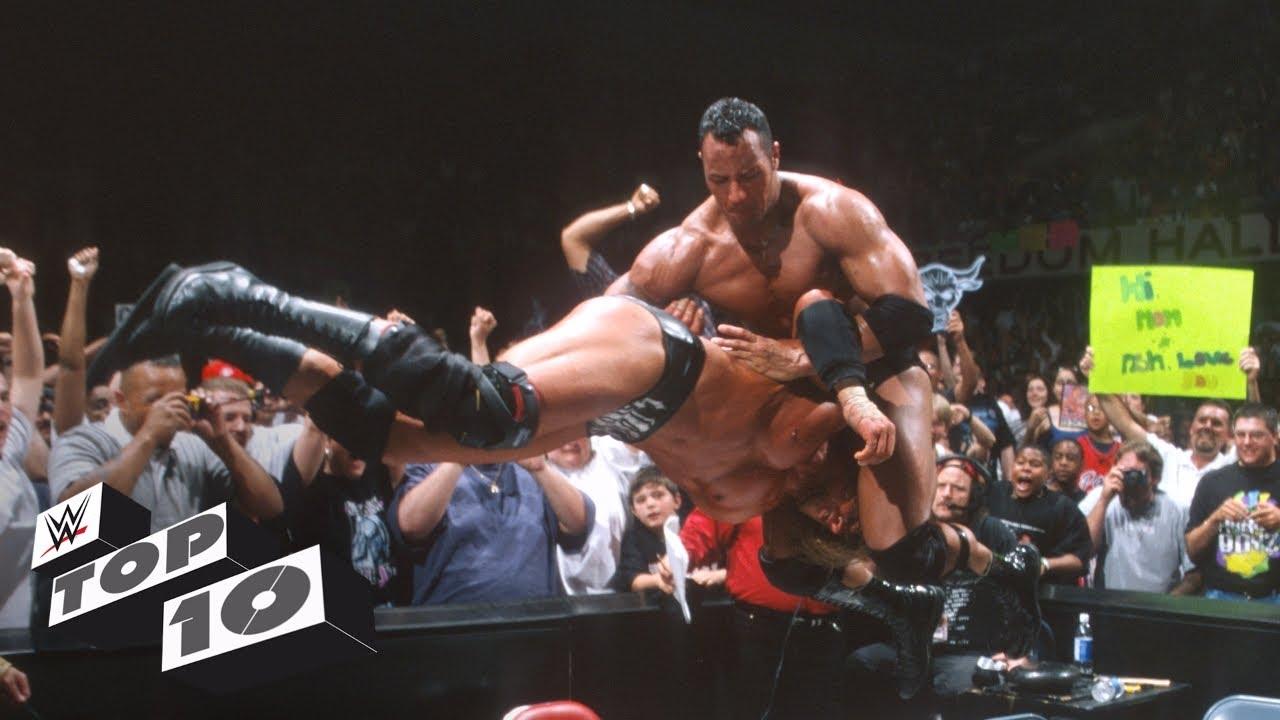 Stolen finisher beatdowns – WWE Top 10