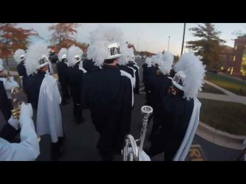 Bel Air High School Marching Band Senior Night 2016