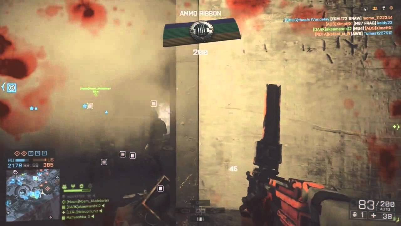 BF4 - Return to the Meatgrinder 100+ Kills OP Locker!