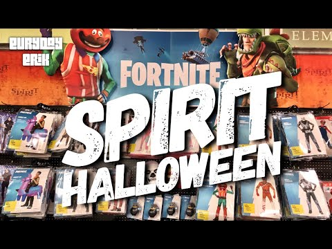 Fortnite Costumes At Spirit Halloween Store 2019!