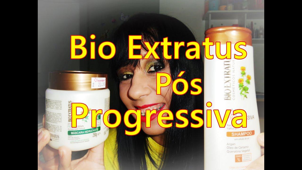 Pos Progressiva Bio Extratus Sem Sulfatos Parabenos Silicones