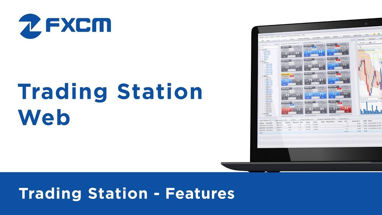 Web Platform   FXCM Trading Station - YouTube