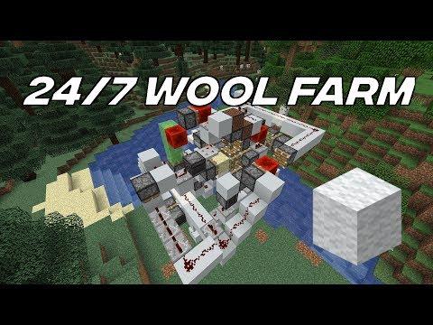 [24/7] Advanced Automatic Wool Farm 1.14