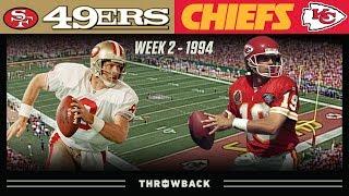 Dream Super Bowl QB Matchup We Never Got! (49ers vs. Chiefs 1994, Week 2)