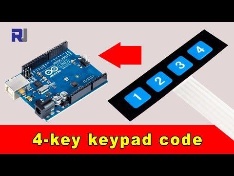 [DIAGRAM_34OR]  How to use 4x1 push button keypad in Arduino - YouTube | Membrane 1x4 Keypad Wiring Diagram |  | YouTube