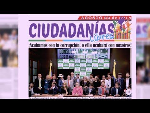 EN CALI NACE CIUDADANÍAS LIBRES, PERIÓDICO MENSUAL ALTERNATIVO POR UNA COLOMBIA MÁS HUMANA