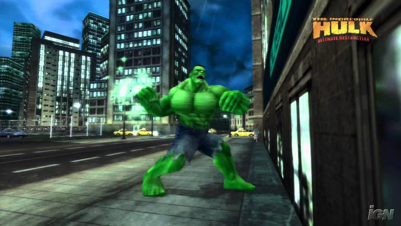 The Incredible Hulk: Ultimate Destruction Xbox Trailer - - YouTube