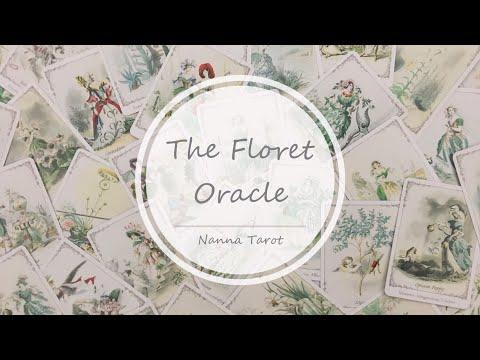 開箱  萬花神諭卡 • The Floret Oracle // Nanna Tarot