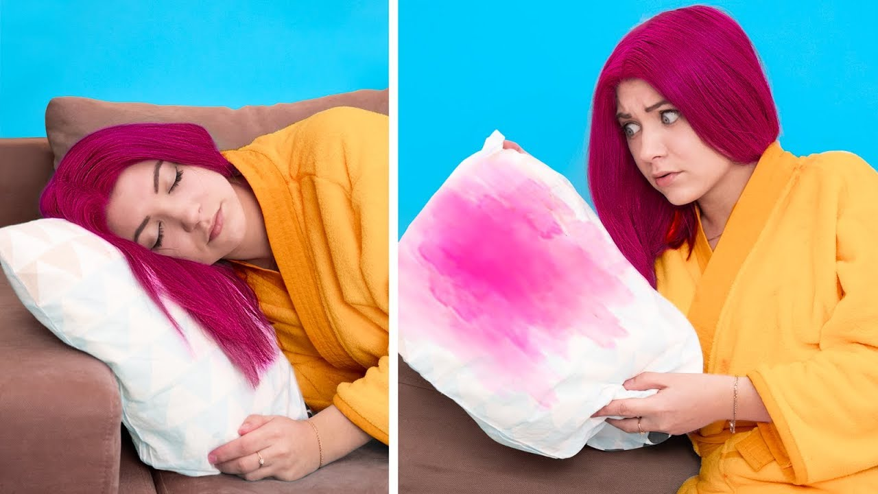 Download 18 Struggles When You Dye Your Hair / Colored Hair vs Natural Hair Problems