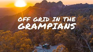 UNEXPECTED 4x4 TRACKS & WÏLD CAMPING GALORE - Off grid in the Grampians for a week! | Ep 13 |