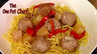Sweet And Sour Meatballs - Recipe