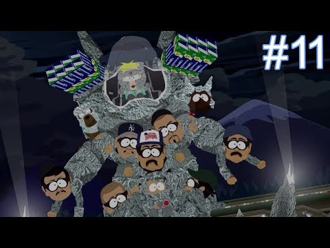 Butters / Professor Chaos Boss Fight - South Park The Fractured But Whole Let's Play Part 11
