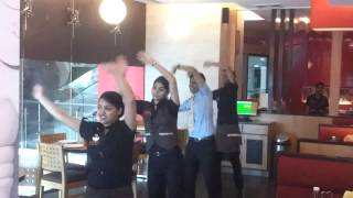 Doop Dance at Pizza hut Udaipur