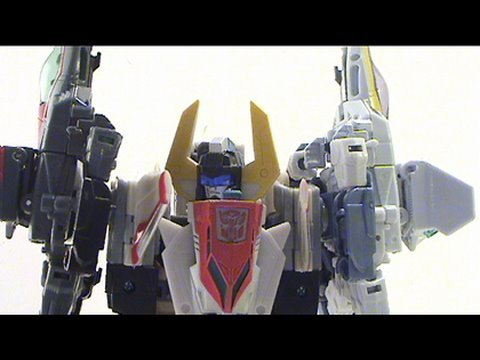 Video Review of Transformers Revenge of the Fallen Superion w/fansproject appendage set