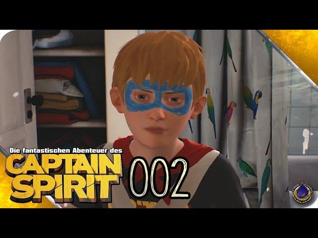 DIE FANTASTISCHEN ABENTEUER DES CAPTAIN SPIRIT 🚀 [002] Interview mit einem Superhelden