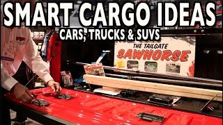 Smart Cargo Ideas for your Car, Truck or SUV with Erickson Manufacturing SEMA 2018
