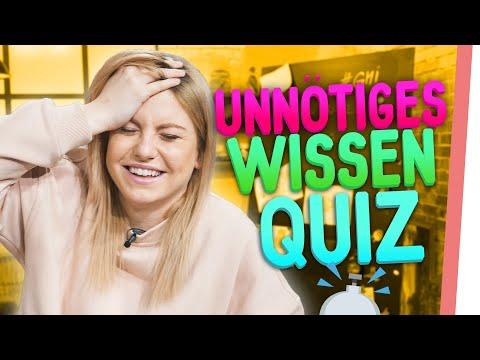 INTERNET AUSDRUCKEN?| Unnötiges Wissen Quiz mit Sturmi und Kelly