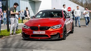 600HP BMW M4 F82 w/ M Performance Exhaust - Crazy LOUD Revs & Accelerations !