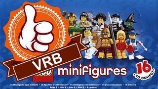 Обзор LEGO 8684, 2 серия коллекционных минифигурок.