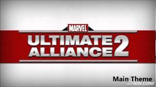 Marvel Ultimate Alliance 2 OST 101 - Main Theme