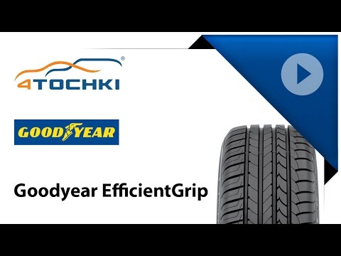 Обзор шины Goodyear EfficientGrip