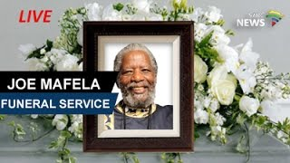 Veteran actor Joe Mafela Funeral Service, 29 March 2017