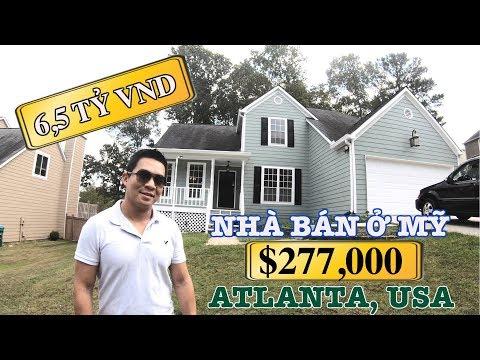 NHÀ BÁN Ở MỸ GIÁ 6,5 TỶ - $277,000 - ATLANTA, USA