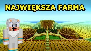 Jeż Na Ferajnie 4!- NAJWIĘKSZA FARMA NA ŚWIECIE MINECRAFTA! - Na żywo