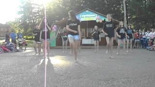 Танец на закрытие в лагере им. А.П. Чехова